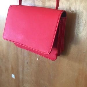 Red Forever 21 side purse, uses once!